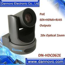 Free Shipping: DANNOVO PoE HD Live Streaming Camera 20x Zoom with SDI,HDMI Outputs, Support Audio, ONVIF(DN-HDC062E)
