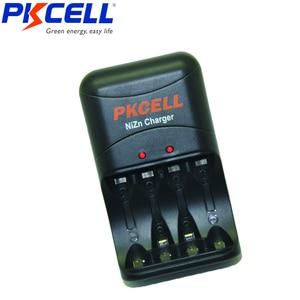 Image 5 - 4Pcs PKCELL AA 1,6 V NI ZN Akku 2250mWh zu 2500mWh AA batterien verpackt mit Ni Zn Batterie ladegerät EU/Us stecker