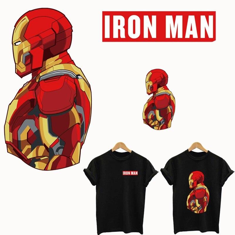 04996e25c7 IRON MAN patch zastosowanie jeden kolejny naklejki paski na ubrania żelaza  poprawki dla odzież ciepła klej