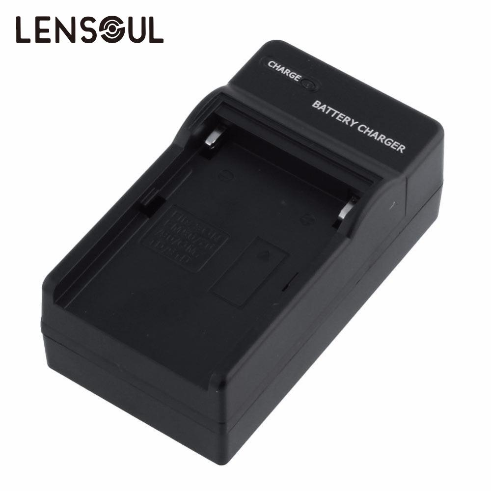 lensoul NEW Arrival!! US plug Camera Battery Charger For Sony NP-F570 NP-F960 NP-F330 FM500H FM55H FM30