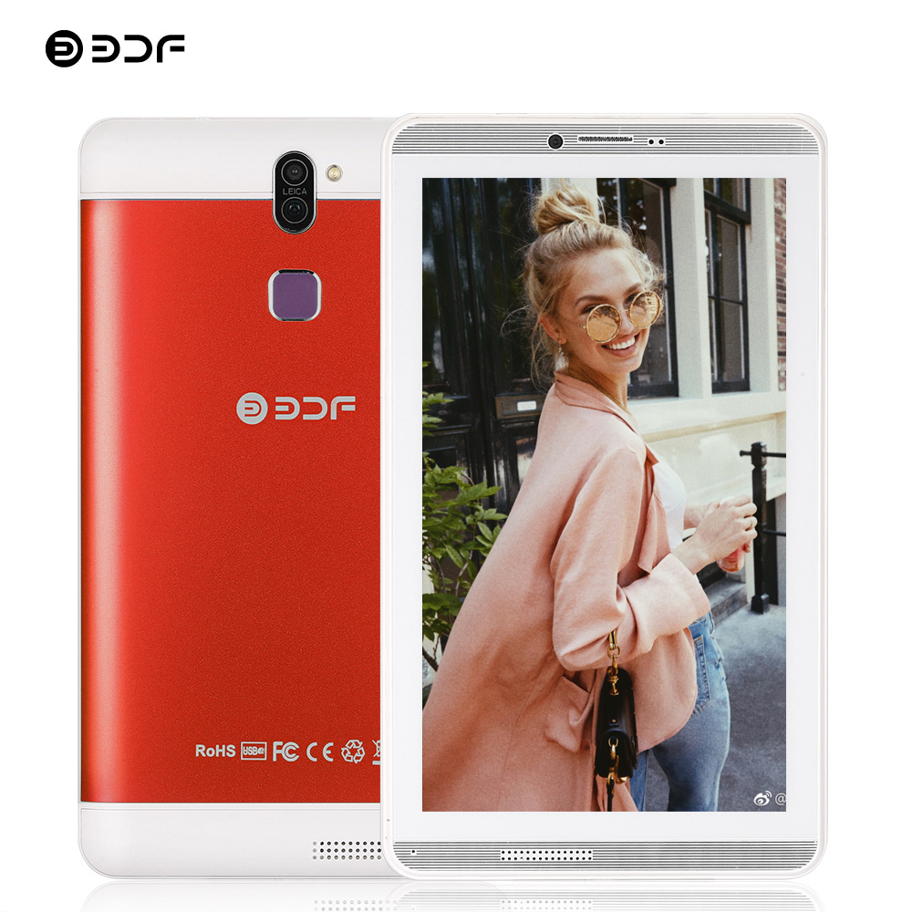 BDF Tablet 7 Inch Android 6.0 Tablet Pc 3G Phone Dual SIM Card Mini Tablet Computer 1GB/16GB Quad Core KIDS Tablet 2020 Mi Pad 4