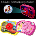 Children's cartoon toys luminous projection simulation camera can transform the eight kinds of patterns