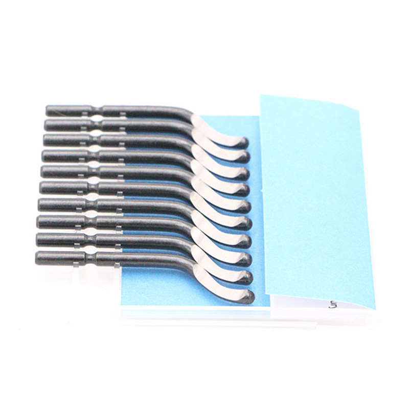 NG1001 Burr Handle 11pcs BS1010 S10 Blades Set Hand Deburring Tool Woo