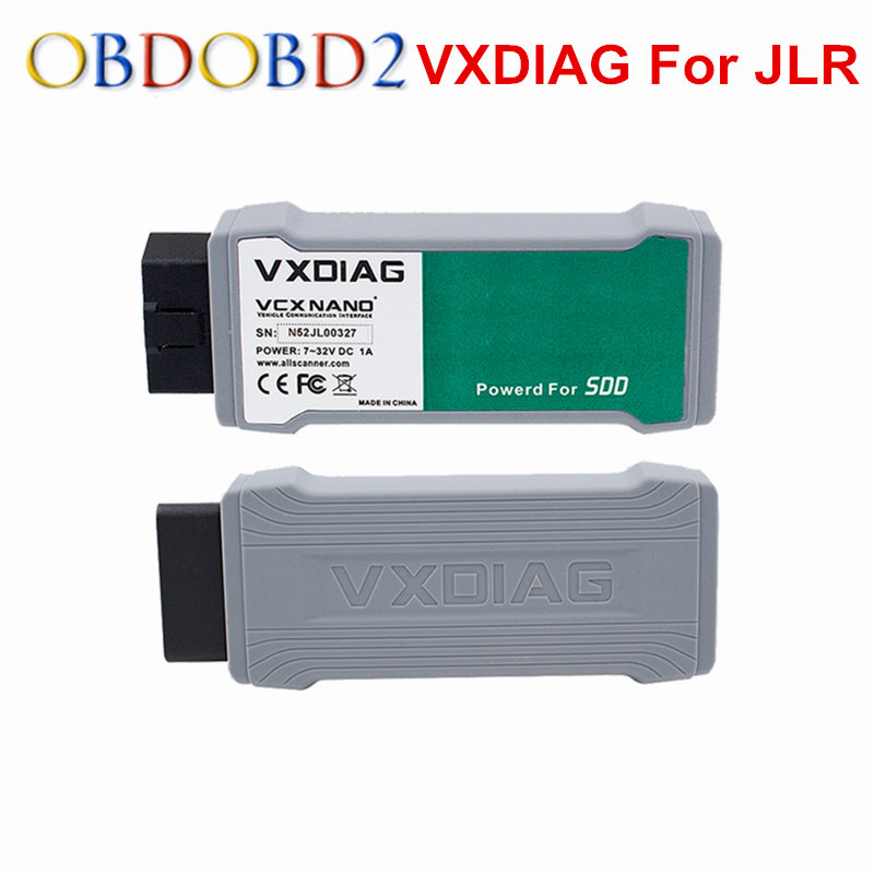 VXDIAG VCX NANO For Land Rover For Jaguar 2 IN 1 Software SDD V145 Professional Auto Diagnostic Scanner VXDIAG WIFI/USB Version jaguar 145