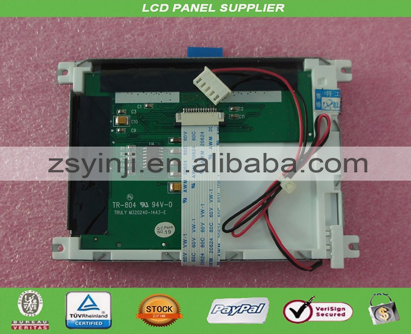 M320240 14A3 E TR 804 industry LCD Panel for RPB 100 screen