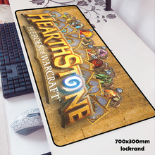 Hearthstone mouse pads 70x30cm pad to mouse notbook computer mousepad Popular ga