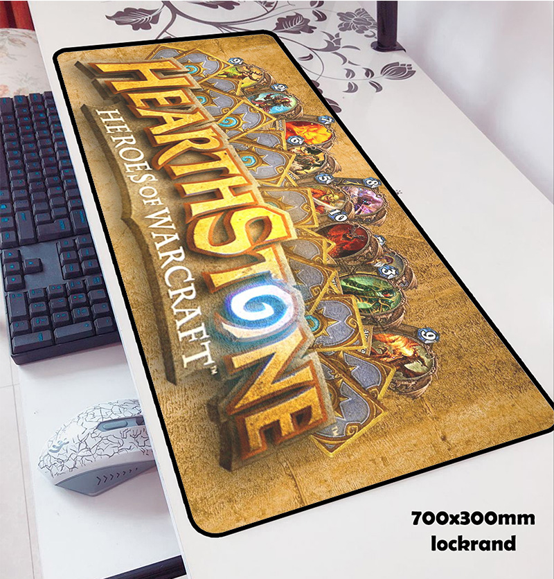 Hearthstone Mouse Pads 70x30cm Pad To Mouse Notbook Computer Mousepad Popular Gaming Mousepad Gamer To Keyboard Laptop Mouse Mat