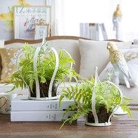 Miz 1 Piece Artificial Plants For Decoration Home Garden Accessories Simulation Plant Set Home Decoration Plants