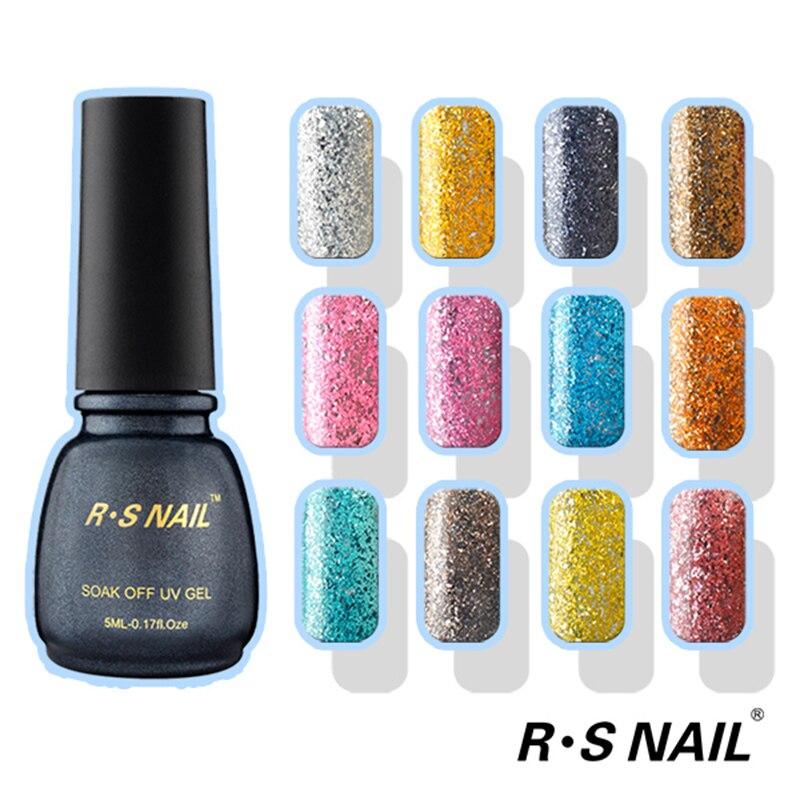 Rs Nail: ̿̿̿(•̪ )RS NAIL Super Glitter ̿̿̿(•̪ ) Gel Gel Platinum