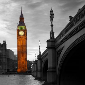 1 panel Big Ben classic canvas printing wall painting art