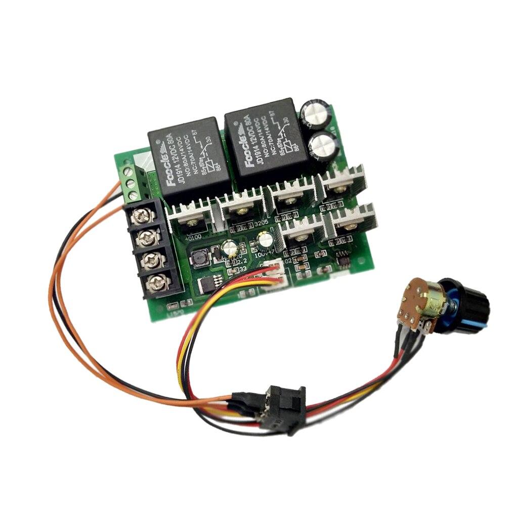 DC 9-50V 40A DC Motor Speed Control Reversible PWM Controller 12V 24V 36V 48V 2000W Forward Reverse Switch kbs48101x 40a 24 48v mini brushless dc controller