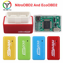 15% Fuel Save EcoOBD2 For Benzine Petrol Gasoline Cars Eco OBD2 Diesel NitroOBD2 Chip Tuning Box Plug & Driver Diagnostic Tool(China)