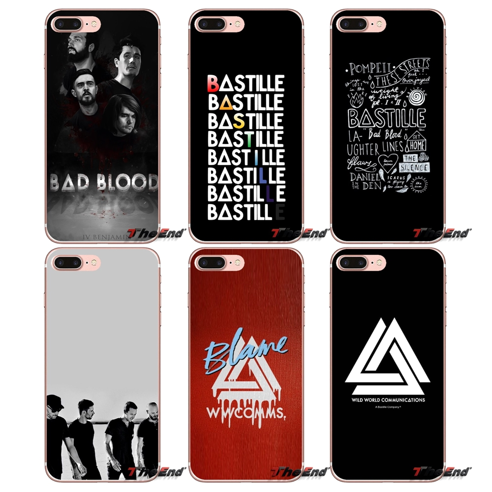 Active Rock Band Indie Concert Metal Clear Phone Case Cover Fits Iphone 5 6 7 8 X Cell Phone Accessories