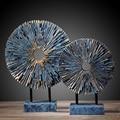 Ретро креативная статуя от солнца из смолы  украшение для дома  предметы для украшения комнаты  офисное винтажное украшение  статуэтки из см...
