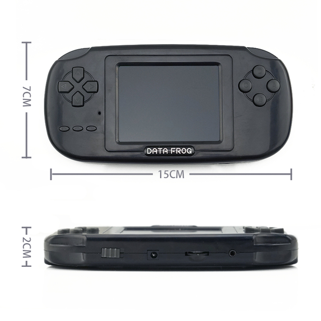 Childhood Classic Game With 168 Games 3.0 Inch 8-Bit PVP Portable Handheld Game Console Family TV Retro Video Consoles 2