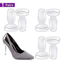 купить High Heel Cushion Shoe Pads for Too Big Shoes Anti-Slip Heel Grips Inserts Liners Foot Insoles for Women по цене 213.83 рублей