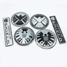 Emblema decalque para marvel ftdf, emblema de proteção para carro bmw, audi, nissan, toyota, honda, acessórios de decalque criativo