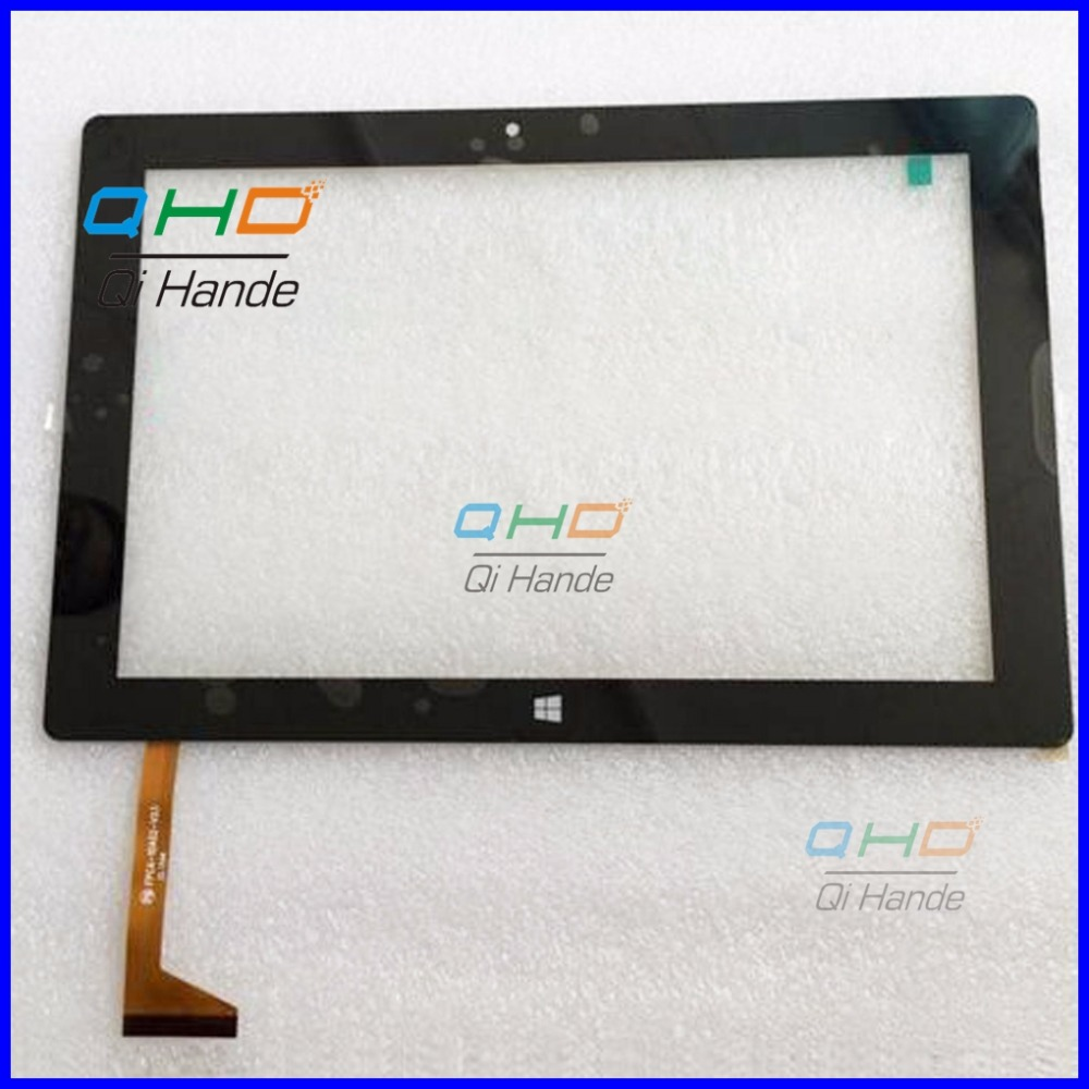 Black 10.1'' inch touch screen,100% New for TrekStor Surftab Twin 10.1 ST10432-8 touch panel,Tablet PC touch panel digitizer original new 10 1 inch trekstor surftab breeze 10 1 quad tablet touch screen touch panel digitizer glass sensor free shipping