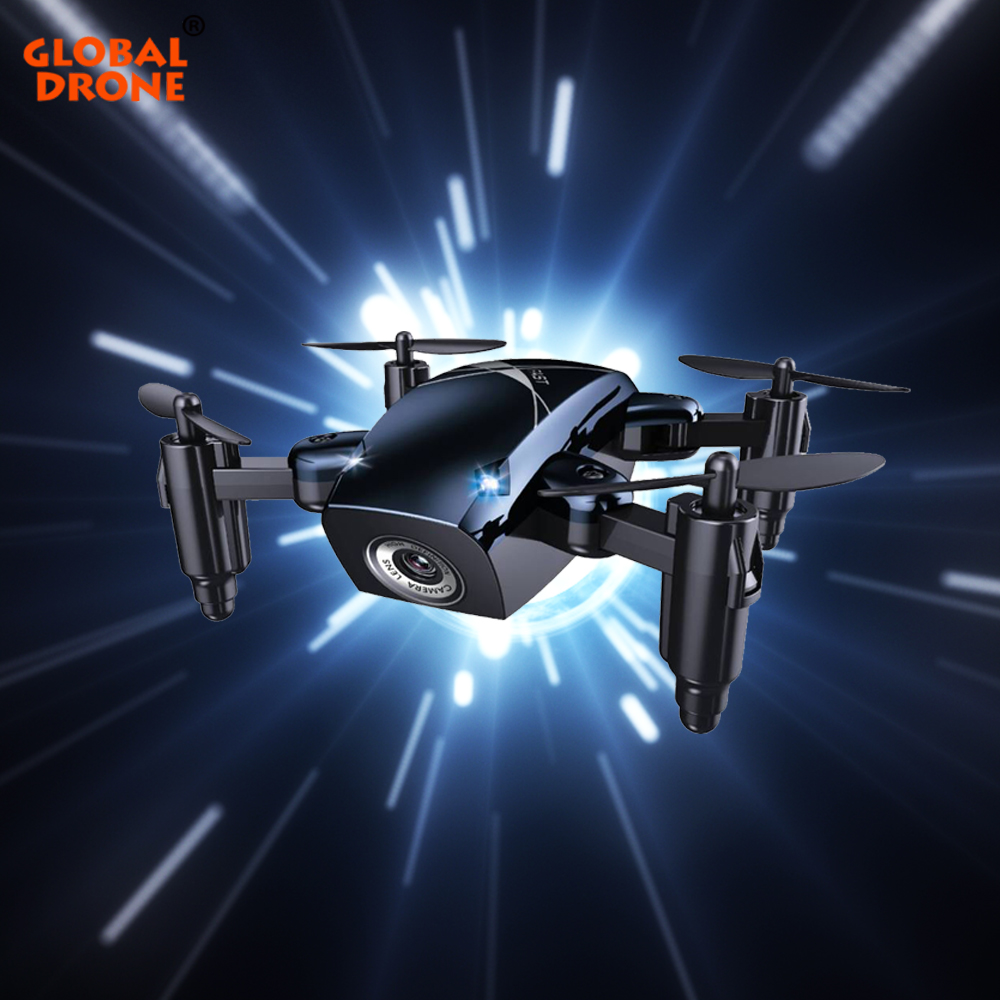 Mondiale Drone S9 Mini Dron avec Caméra HD Hover RC Hélicoptère Sans Tête Mode FPV Drones pour Débutant HD Caméra Quadrocopter VS E58