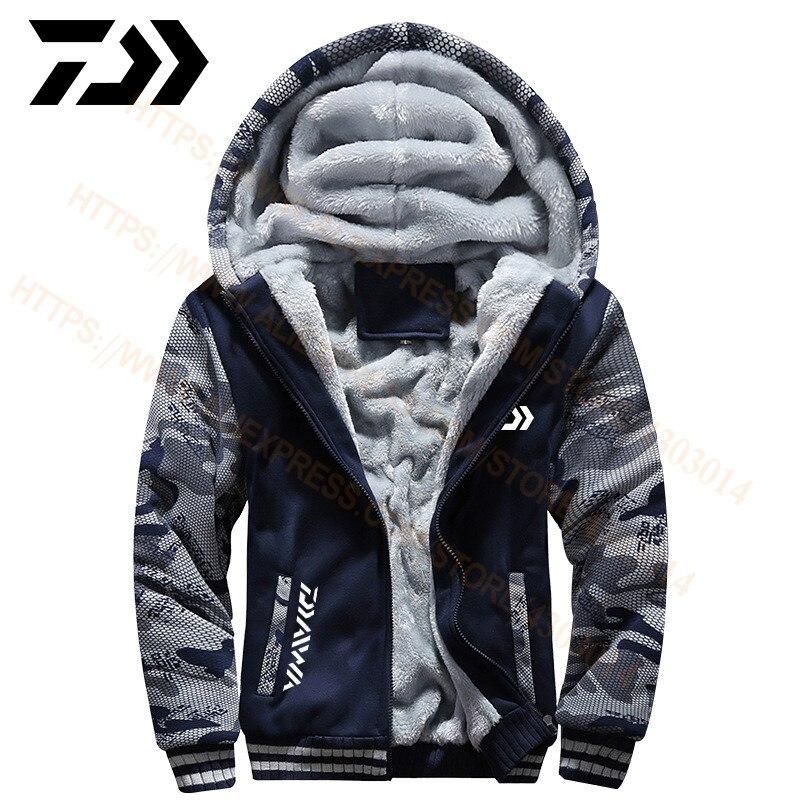 2020 daiwa roupas de pesca hoodies moletom