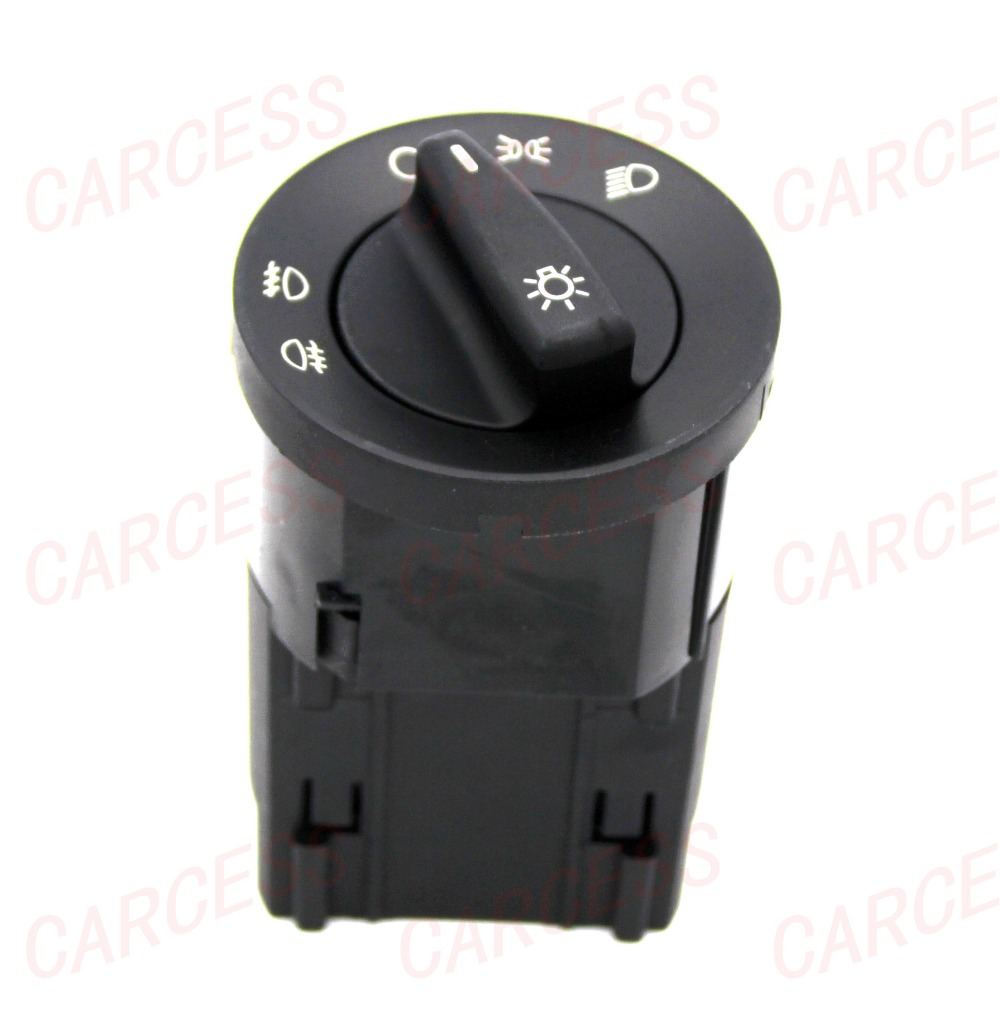 AS-007 1C0941531A HEAD LIGHT CONTROL SWITCH FOR VW GOLF BORA JETTA  PASSAT POLO LUPO BEETLE SHARAN SEAT GALAXY FOR SKODA