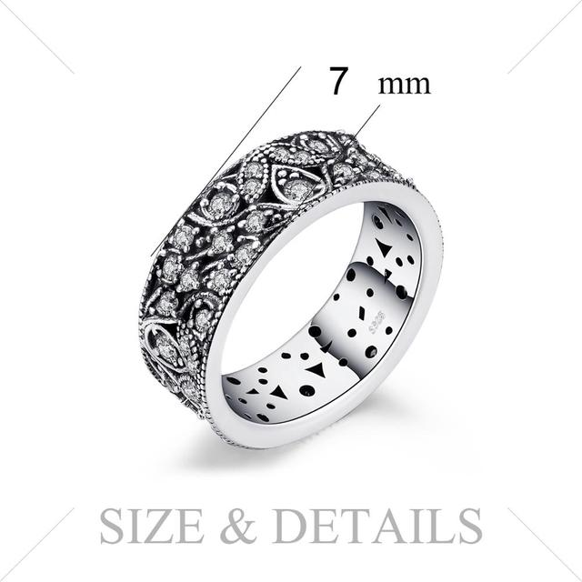 Flower Statement Sterling Silver Ring