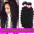 Indian Virgin Hair Deep Wave 4 Bundles Aliexpress Indian Curly Virgin Hair Pineapple Indian Deep Curly Human Hair Extensions