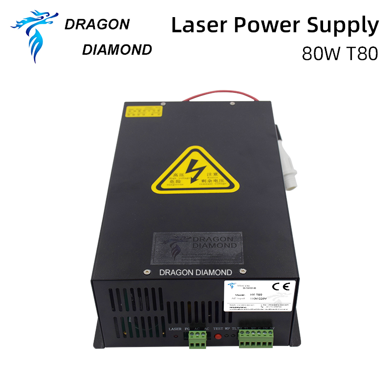 منبع تغذیه با لیزر Dragon Diamond 80W CO2 برای - قطعات برای ماشین آلات نجاری
