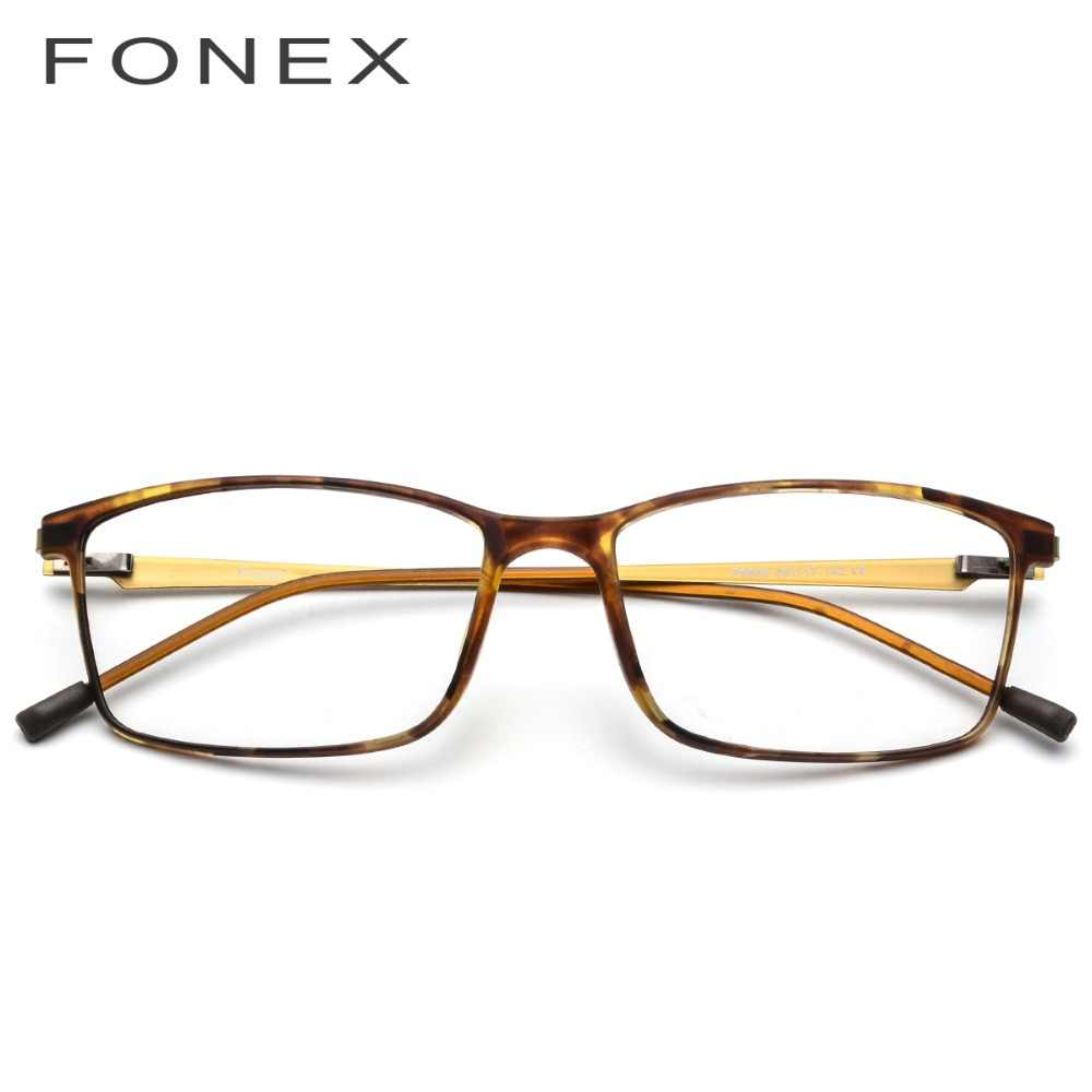 4666908a73 ... TR90 Titanium Alloy Glasses Frame Men Myopia Eye Glass Prescription  Eyeglasses 2018 Korean Screwless Optical Frames ...