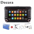 "Quad Core Camera+Canbus GPS Navigation 7"" Android Car Stereo CD DVD Player Radio WiFi USB for VW"