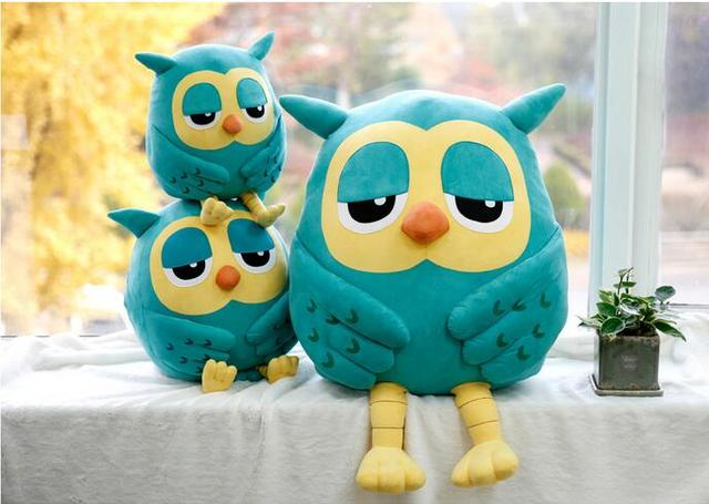 20cm Popular Night Owl Plush Toy Baby Toys Stuffed Animal Doll Soft