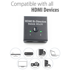 Image 3 - New HDMI Bi Direction Switch HDMI 2.0 HD 4K Switcher 1x2/2x1 Adapter 2 in 1 out Converter for PS4 Pro/4/3 TV Box HDMI Splitter