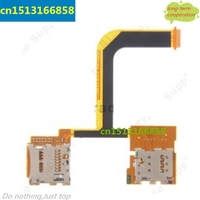5 Pieces Lot HK Free Shipping SIM Card Tray Holder Flex Cable For HTC One Mini