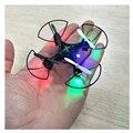 Mini Drone Headless Modo 6 Axis Gyro 2.4 GHz 4CH Dron Con 360 Grados Función de Despliegue de Una Tecla de Retorno RC Helicóptero WIFI Mini Dr