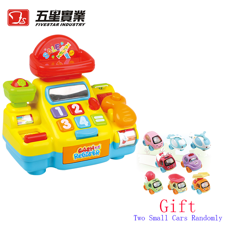 FS TOYS 1 SET 35560A Cash Register Toy cash machine play pretend set toys for children toy shopping carts for kids 2 4 years