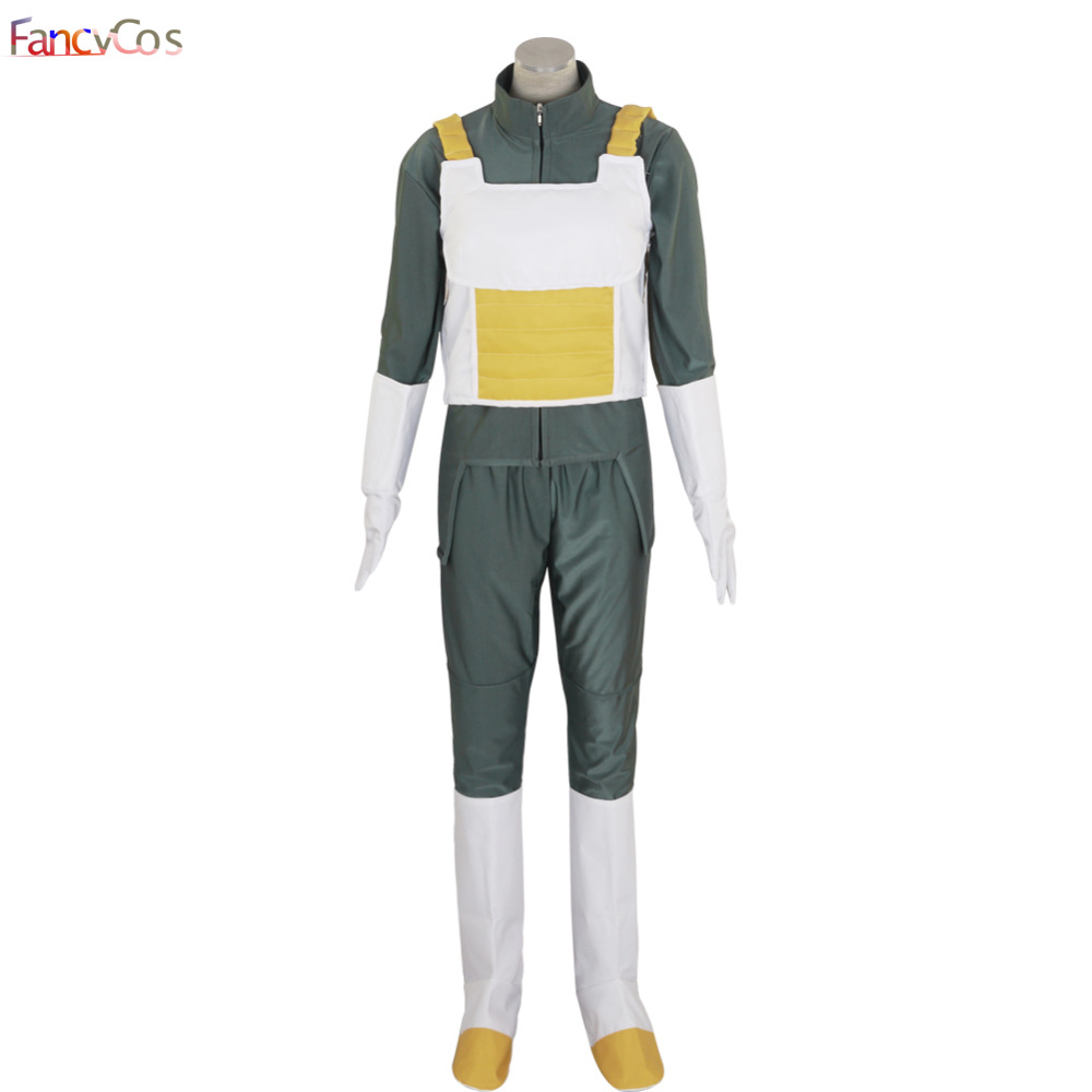 Halloween Dragon Ball Vegeta Son Goku Uniform  Costume Cosplay High Quality Custom Made Japanese Anime