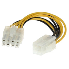 цена на New Computer Cables Professional ATX 4 Pin Male to 8 Pin Female EPS Power Cable Cord Adapter CPU Power Supply Connector