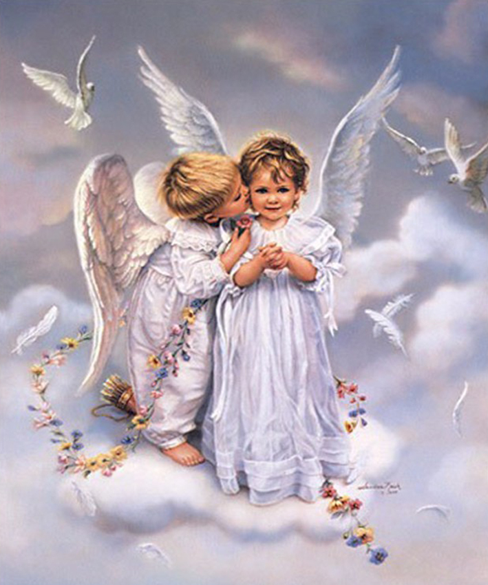 Открытки на сайт ангелы