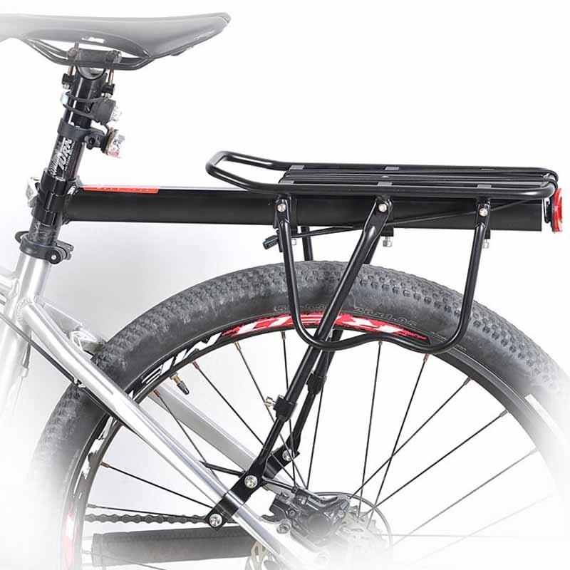 Bicycle Bike Rear Rack Quick Release Aluminum Alloy Frame Carrier Holder Mount BB55