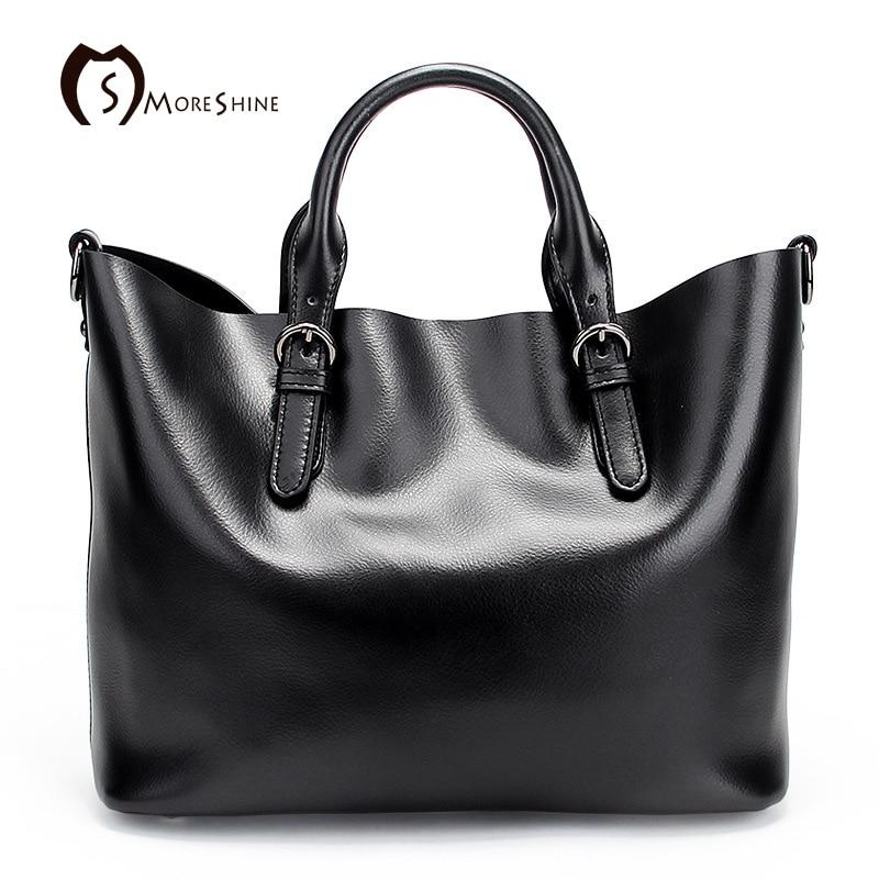 MORESHINE New LUXURY Style Genuine Leather Women Shoulder Bag Brand Designer Cowhide genuine leather handbags Skin Crossbody bag