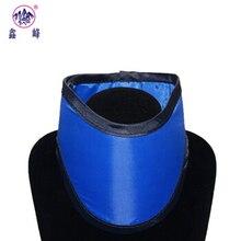 Стоматологическая защита от рентгеновских лучей шарф воротник свинцовый воротник светодиодная Стоматологическая КТ комната Одежда около 0,5 MMPB предотвращает рентгеновское излучение свинец