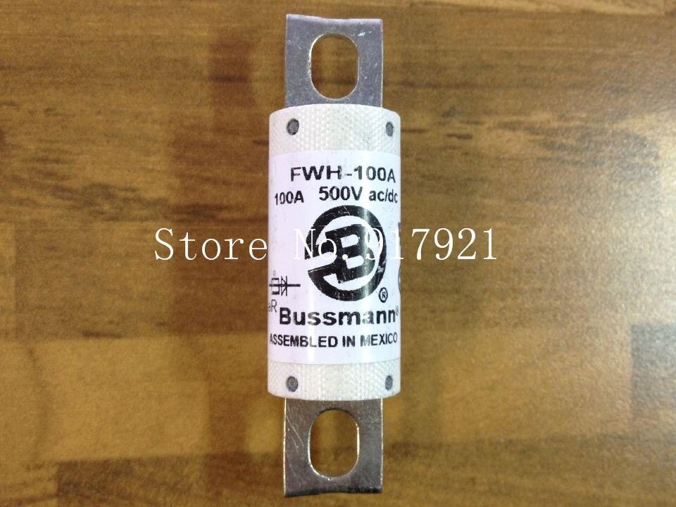 [ZOB] les états-unis Bussmann FWH-100A BUSS 500VAC/DC fusible fusible original-3 pcs/lot