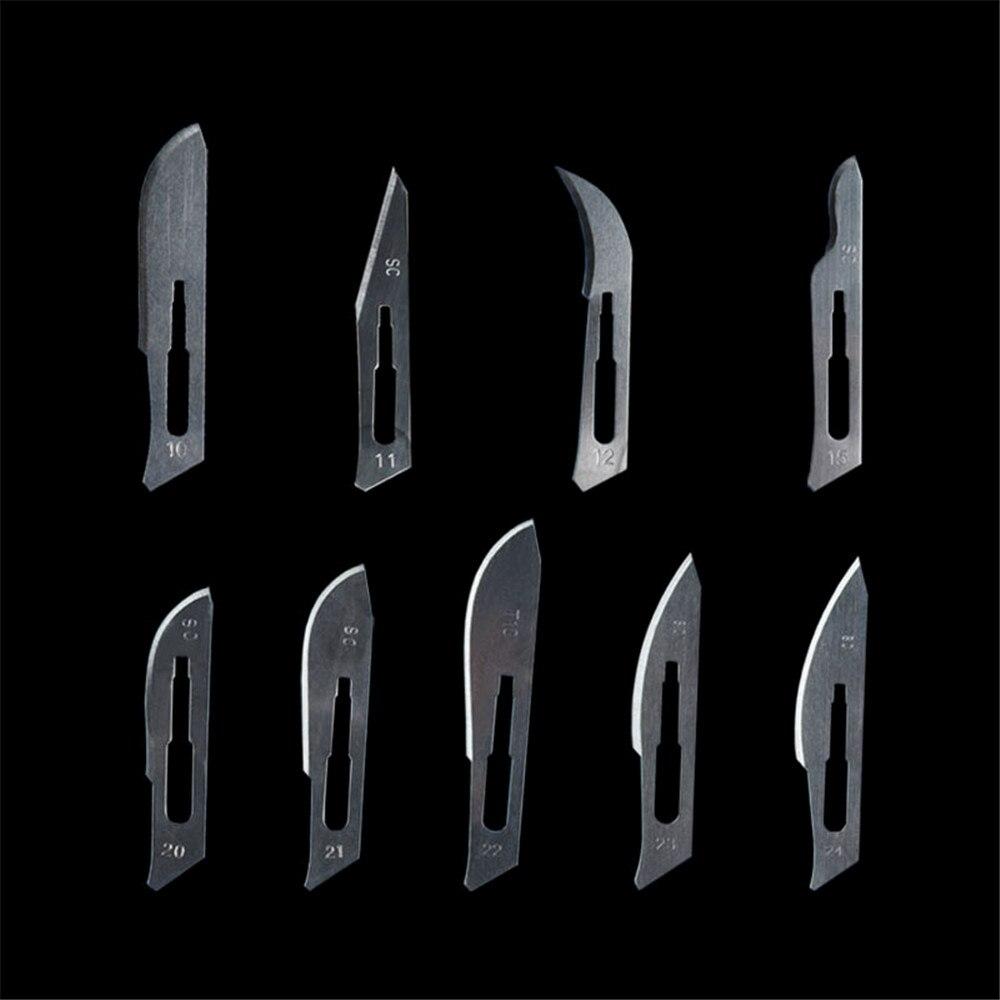 Deasin 20# 21# 22# 23# 24# 25# Scalpel Blades For Dental Medical Stainless Steel Surgical Blade