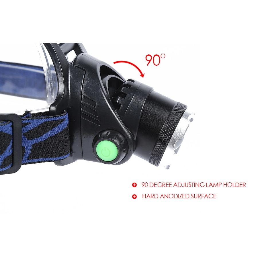 Reflektor czołowy Led Portable Reflektor XML T6 LED Reflektor - Przenośne oświetlenie - Zdjęcie 3