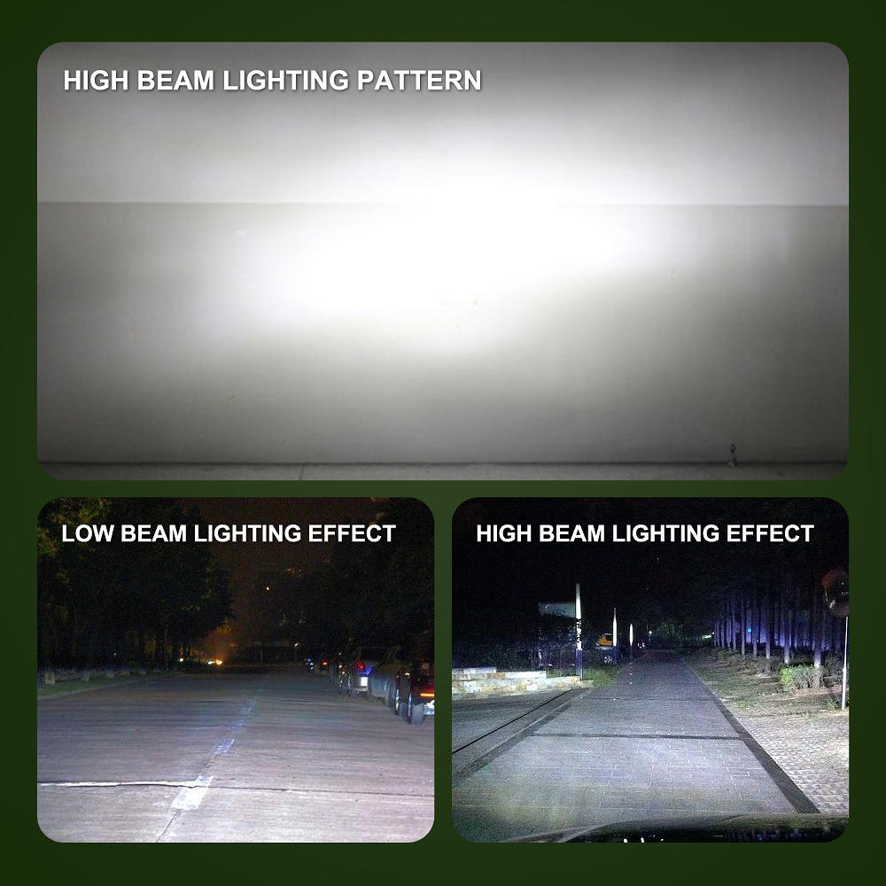 מנורות לרכב 2pcs S2 H7 LED 8000LM רכב פנס נורות H1 LED H4 H8 H9 H11 ערכת אורות 9005 HB3 9006 HB4 לרכב LED מנורות DC9-32V אורות ערפל (5)