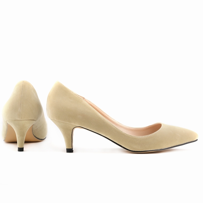 Fashion velvet women pumps ol pointed toe low high-heeled shoes nude heels shallow woman shoes sexy wedding shoes 678-1VE fashion pointed toe high heeled shoes genuine leather sheepskin shallow mouth nude color thin heels sexy women s shoes