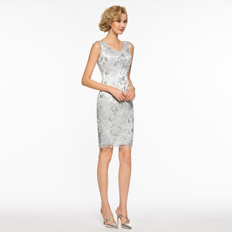 49ee452ace6b Dressv V Λαιμός Γόνατο Μανίκι Νύφη Φόρεμα Νύφη Φόρεμα Μακρύ Μανίκι ...