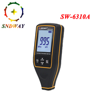 Sndway high precise Digital Paint Coating Thickness Gauge Car detector Refinishing Paint micrometer Automotive Coating test