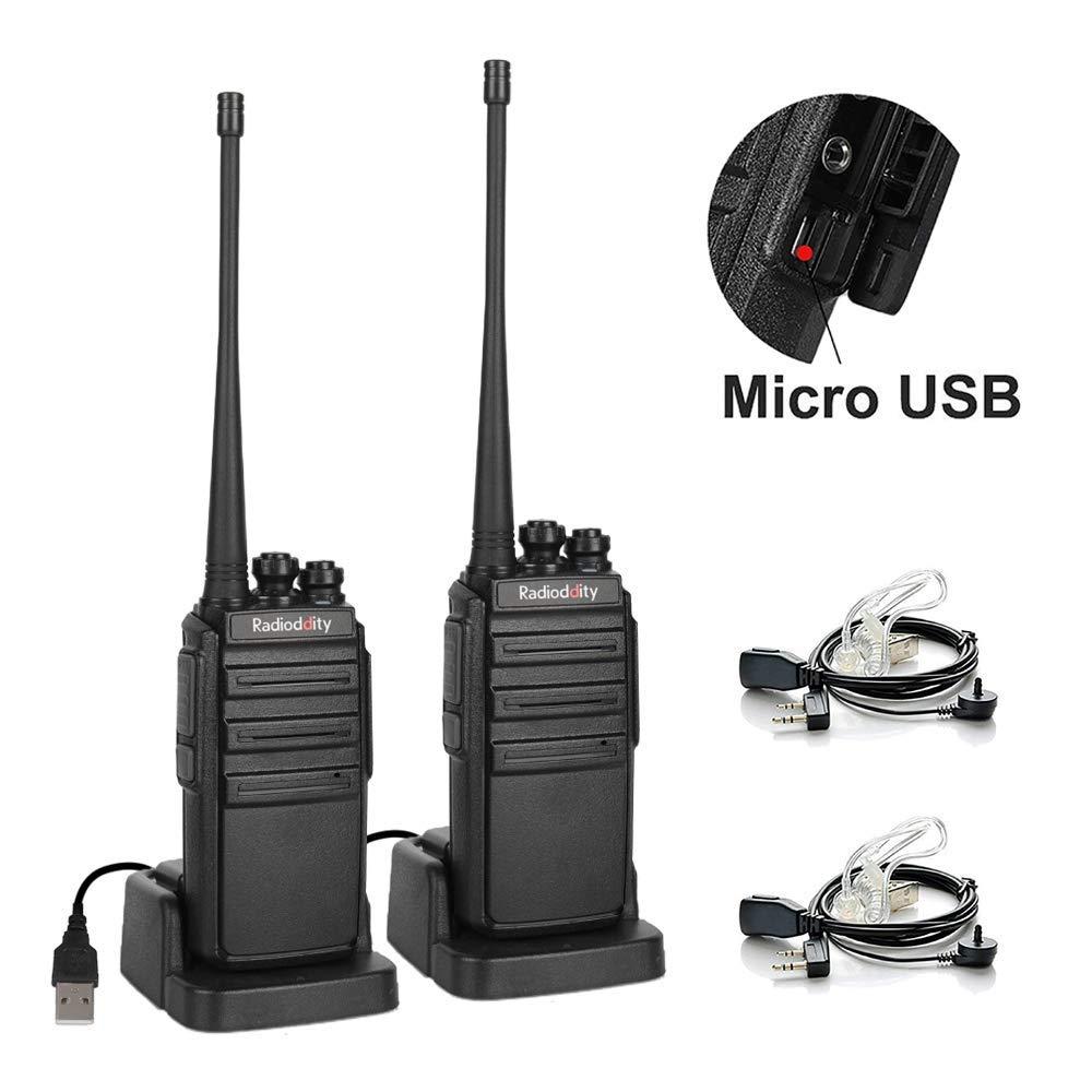2 τεμάχια Radioddity GA-2S Walkie Talkie 400-470MHz 2W 1500mAh - Φορητό ραδιοτηλέφωνο