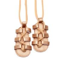 271d2e04425c HONGTEYA 2019 Summer Fashion Lace-up Bandage Shoes For Baby Girls Sandals  Fringe Soft Shoes